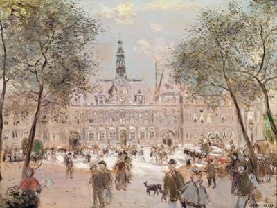 Place De L'Hotel-De-Ville, Paris