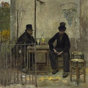 The Absinthe Drinkers (Les Declasses), 1881 by Jean Francois Raffaelli