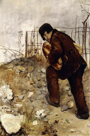 The Man with Two Loaves of Bread, 1879