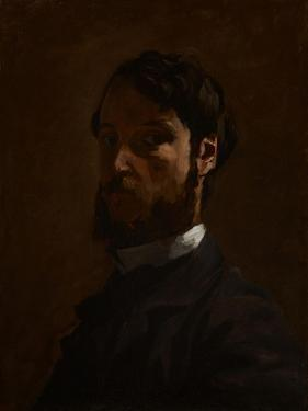 Self Portrait, 1867-68 by Jean Frederic Bazille