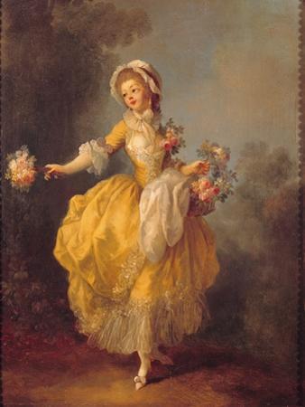 Dancer with a Bouquet