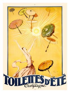 Toilettes d'Ete by Jean-Gabriel Domergue