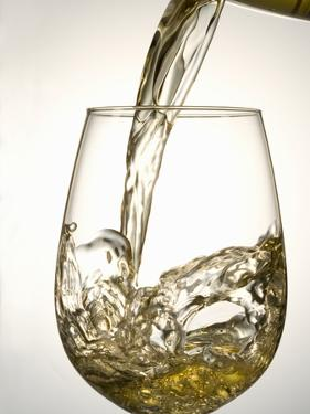 Pouring White Wine by Jean Gillis