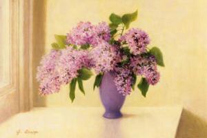 Lilacs by Jean Grapp