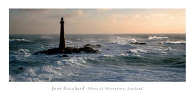 Phare De Skerryvore, Scotland by Jean Guichard