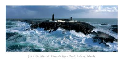 Phare De Slyne Head, Galway, Irlande by Jean Guichard