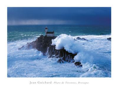 Phare De Tevennec, Bretagne by Jean Guichard