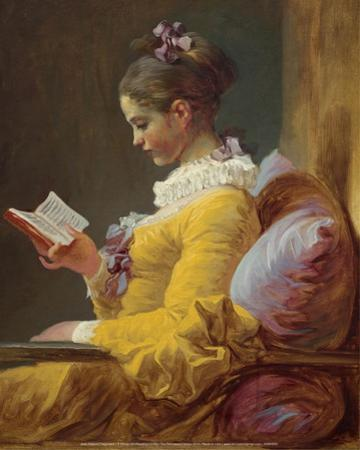 A Young Girl Reading (1776) by Jean-Honoré Fragonard