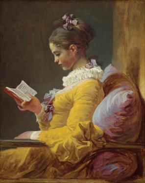 A Young Girl Reading, 1776 by Jean-Honoré Fragonard