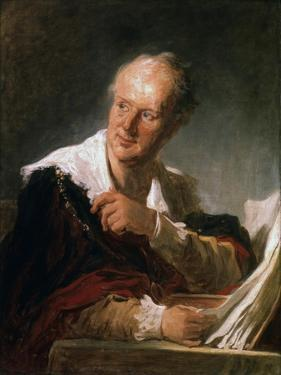 Denis Diderot, 18th Century French Man of Letters and Encyclopaedist, C1755-1784 by Jean-Honore Fragonard