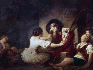 Education Is All, 1780 by Jean-Honore Fragonard