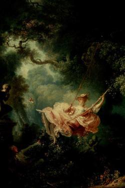 Jean-Honore Fragonard (The Swing) by Jean-Honoré Fragonard