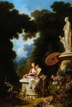 Love Letters by Jean-Honoré Fragonard