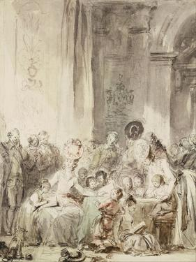 The Competition (Le Concour) by Jean-Honoré Fragonard