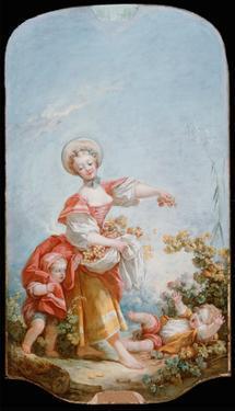The Grape Gatherer, 1748-52 by Jean-Honoré Fragonard