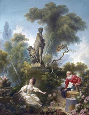 The Progress of Love: the Rendezvous by Jean-Honoré Fragonard