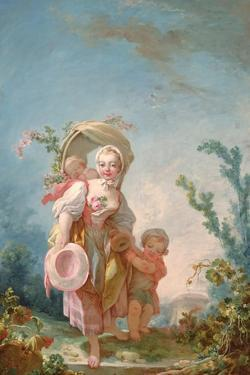 The Shepherdess, 1748-52 by Jean-Honore Fragonard