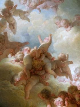 The Swarm of Cupids by Jean-Honoré Fragonard