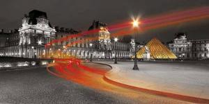 Le Louvre by Jean-jacques Bernier