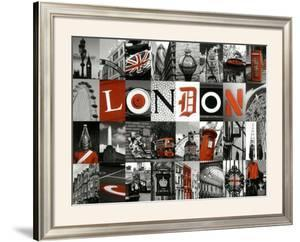 Mosaïque London by Jean-jacques Bernier