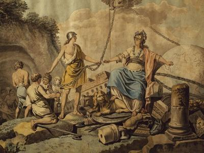 Ancient World Freeing New Free World, Circa 1780