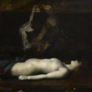 Atala by Jean Jacques Henner