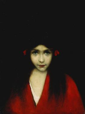 Head of a Girl by Jean-Jacques Henner