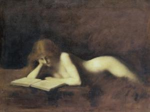 La Liseuse by Jean-Jacques Henner
