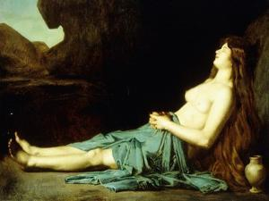 Madeleine in the Desert, C.1874 by Jean-Jacques Henner