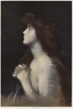 Study of a Woman by Jean-Jacques Henner