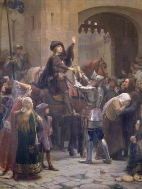 Joan of Arc Leaving Vaucouleurs, 23rd February 1429 by Jean-jacques Scherrer
