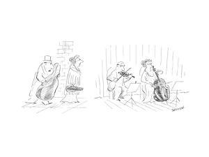 New Yorker Cartoon by Jean-Jacques Sempé