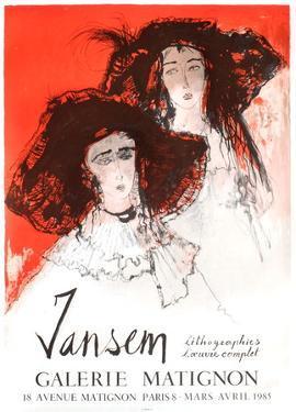 Expo 85 - Galerie Matignon by Jean Jansem