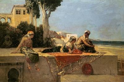 On the Terrace by Jean Joseph Benjamin Constant