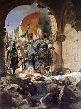 The Entry of Mehmet II into Constantinople, 1876 by Jean Joseph Benjamin Constant