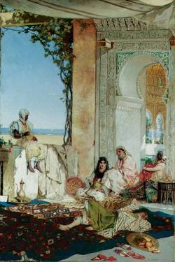 Women of a Harem in Morocco, 1875 by Jean Joseph Benjamin Constant