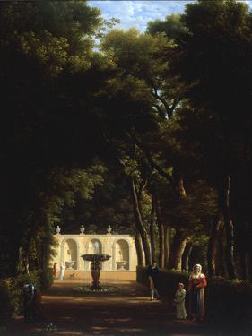 Villa Borghese, Rome, 1810 by Jean-Joseph-Xavier Bidault