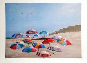 Umbrellas by Jean L. Barton