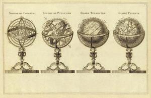 Spheres et Globes, c.1791 by Jean Lattre