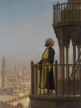A Muezzin by Jean-Léon Gerôme