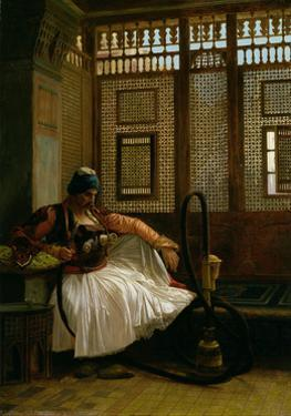 Arnaut Smoking by Jean Leon Gerome