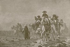 Bonaparte in Egypt by Jean Leon Gerome