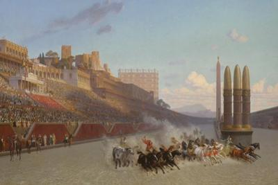 Chariot Race, 1876