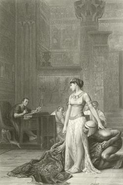 Cleopatra and Caesar by Jean Leon Gerome