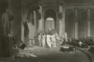 Death of Julius Caesar, 44 BC by Jean Leon Gerome