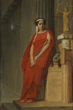 Élisa Rachel as Phèdre by Jean-Léon Gerôme