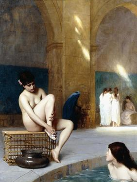Femme Nue, C.1889 by Jean Leon Gerome