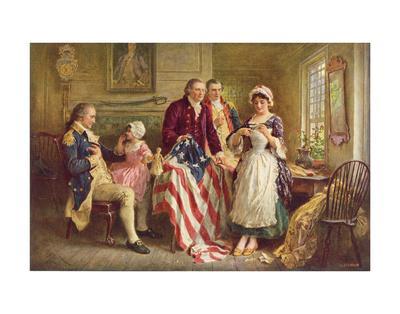 Betsy Ross, 1777