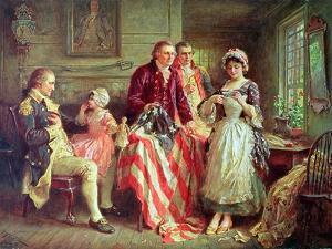 Betsy Ross by Jean Leon Gerome Ferris