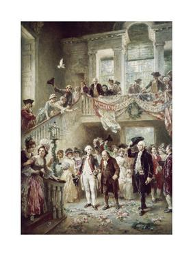 Constitutional Convention by Jean Leon Gerome Ferris
